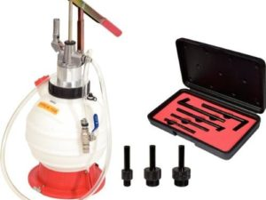 Öljyn ja nesteiden huolto  työkalut